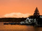 Sunset in Wolfeboro  New Hampshire  USA