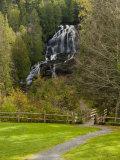 Beaver Brook falls in Colebrook  New Hampshire  USA