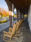 Front Porch of the Hanover Inn  Dartmouth College Green  Hanover  New Hampshire  USA