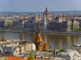 A View of Budapest from Castle Hill  Hungary