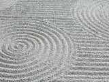 Pattern in Sand  Tofukuji Temple  Kyoto  Japan