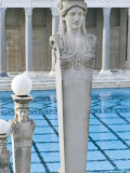 Neptune Pool at Hearst Castle  California  USA