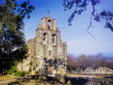 Mission Espada  Missions National Historic Park  San Antonio  Texas  USA