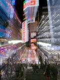 Shinjuku Street  Tokyo  Japan