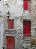 Cobbled Street  Instria  Croatia