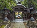 Courtyard  Eiheiji Temple  Fukui  Japan