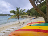 Oceans Seven Beach Club  Peter Island  British Virgin Islands  Caribbean