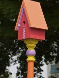Colorful Birdhouse  Ogunquit  Maine  USA