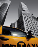 Chrysler Building  New York City Taxi