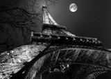 Tour Eiffel  Pleine Lune