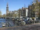 Westerkerk  Prinsengracht  Amsterdam  South Holland  Netherlands