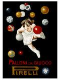 Pirelli Palloni da Giuoco Giclée par Leonetto Cappiello
