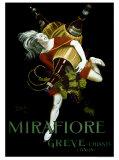 Mirafiore, Greve Chianti Giclée par Leonetto Cappiello