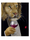 The Wine King Giclée par Will Bullas