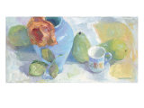 Pears and Rose 1