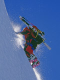 Ski Mountaineer Scales Mount Berry