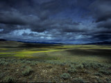 Storm Builds Up over a Colorado Landscape