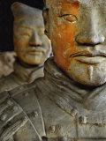 Pigment Remains on 2 200 Year Old Terra Cotta Soldier Statue