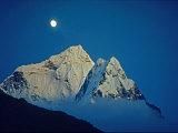Moonrise over 6828-Meter Ama Dablam