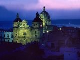 Church of San Pedro Claver Rises Above Cartagena  Colombia