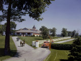 View of the Grounds at Calumet Farm  Where Race Horses are Held