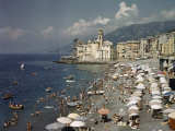 Camogli's Beach Is a Popular Vacation Destination