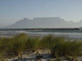 View of Table Mountain from Big Bay  South Africa