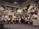 Murals by Thomas Hart Benton Adorn Walls of Missouri State Capitol