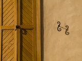 Details of an Adobe House in Santa Fe