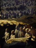 Morning Sun Shining on China's Great Terracotta Army