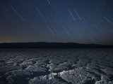 Star Trails Above the Salt Flats of Badwater