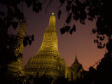 Wat Arun  Temple of the Dawn  at Sunset