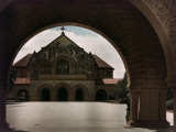 View of the Stanford Memorial Chapel in Palo Alto