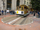Famous Trolley in San Francisco  California