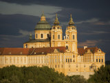 Late Evening Sunset View of Melk Abbey