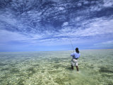 Flyfishing for Bonefish on the Bahama Flats