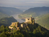Elevated View of the Aggstein Ruins