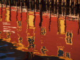 Reflections of Buildings in Rippled Water