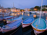 Boats Moored in the Harbor of Cassis