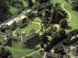 Aerial View of Warwick Castle