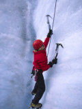 Ice Climbing on Root Glacier