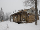 Homesteader Cabin in Bush Alaska