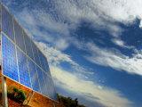 Solar Panel in the Desert of South Australia