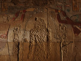 Relief on the Red Chapel of Hatshepsut&#39;s Likeness Chiseled Away