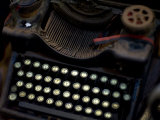Antique Typewriter in a Shop