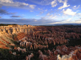 Clouds over Bryce Canyon's Amphitheater