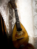 Vintage Lute in Window Light