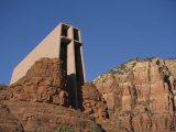 Chapel of the Holy Cross Church on a Cliff in Sedona  Arizona