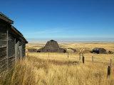 Abandoned Farm in Canada's Prairies