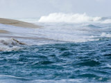 Waves Pound the Shore at Sunset Beach  Oahu Island  Hawaii